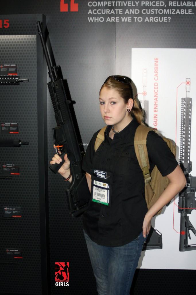 GunDoll with Bushmaster ACR DMR